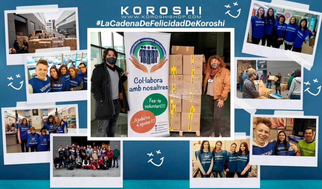 Pie de foto: El responsable de Koröshi, Miguel Cabot, con la representante de     Autor: Lov&Lion SL