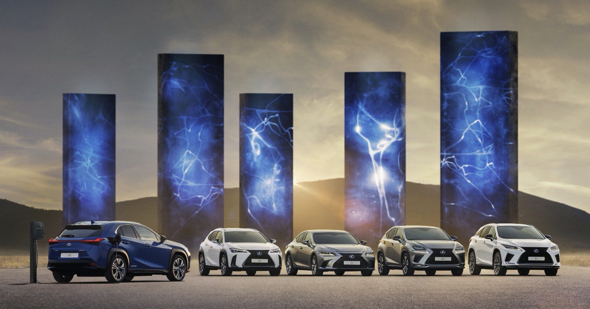 Lexus España cierra el año 2020 con la mejor cuota de mercado de su historia.
