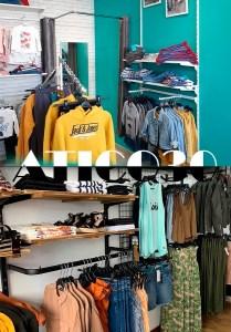 Detalle de las tiendas Atico30 y Atico30 Kids.