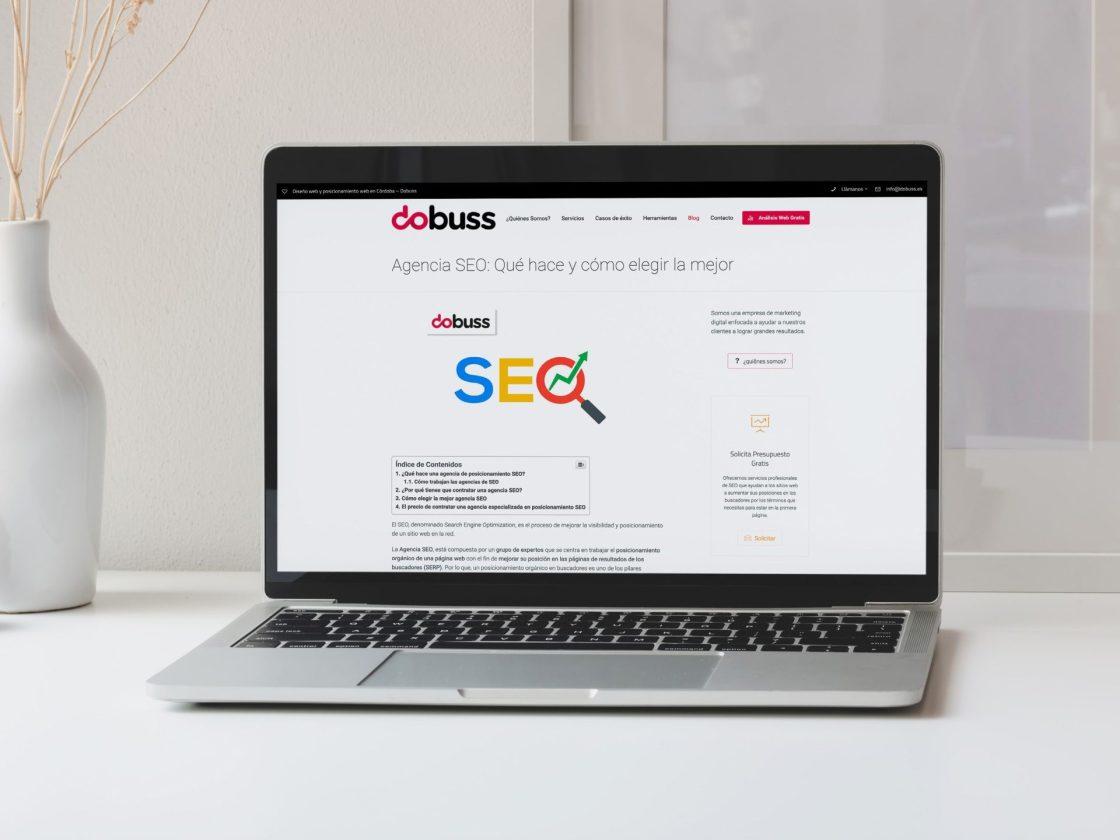 Las 10 mejores agencias SEO de España en Google.