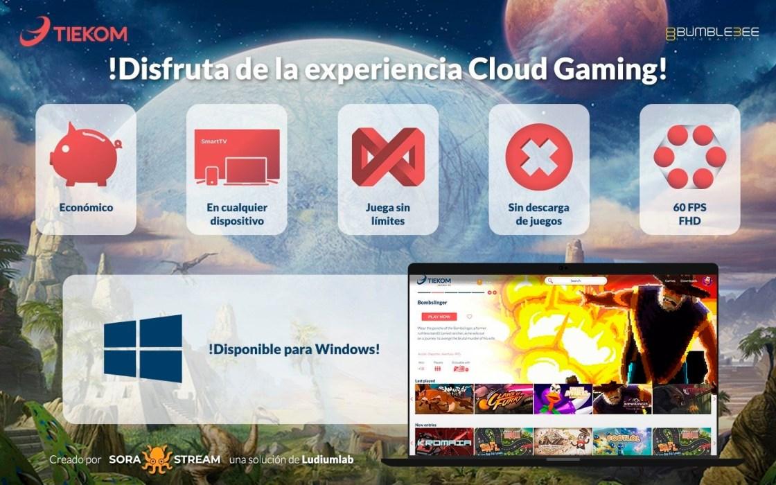 Videojuegos en la nube.