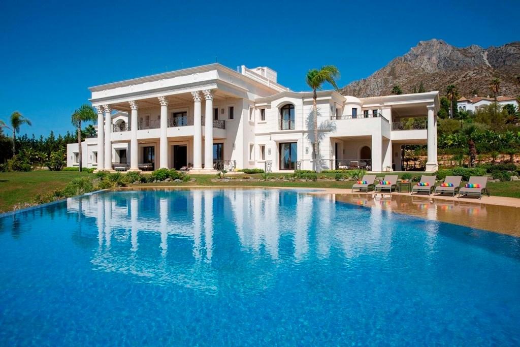 Una de las villas mas lujosas de Marbella valorada en 40 millones.