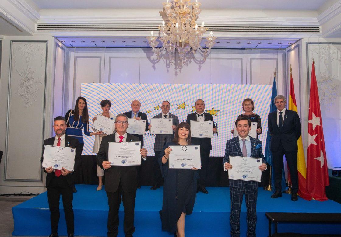 Premiados con la Medalla de Oro Europea al Mérito en el Trabajo