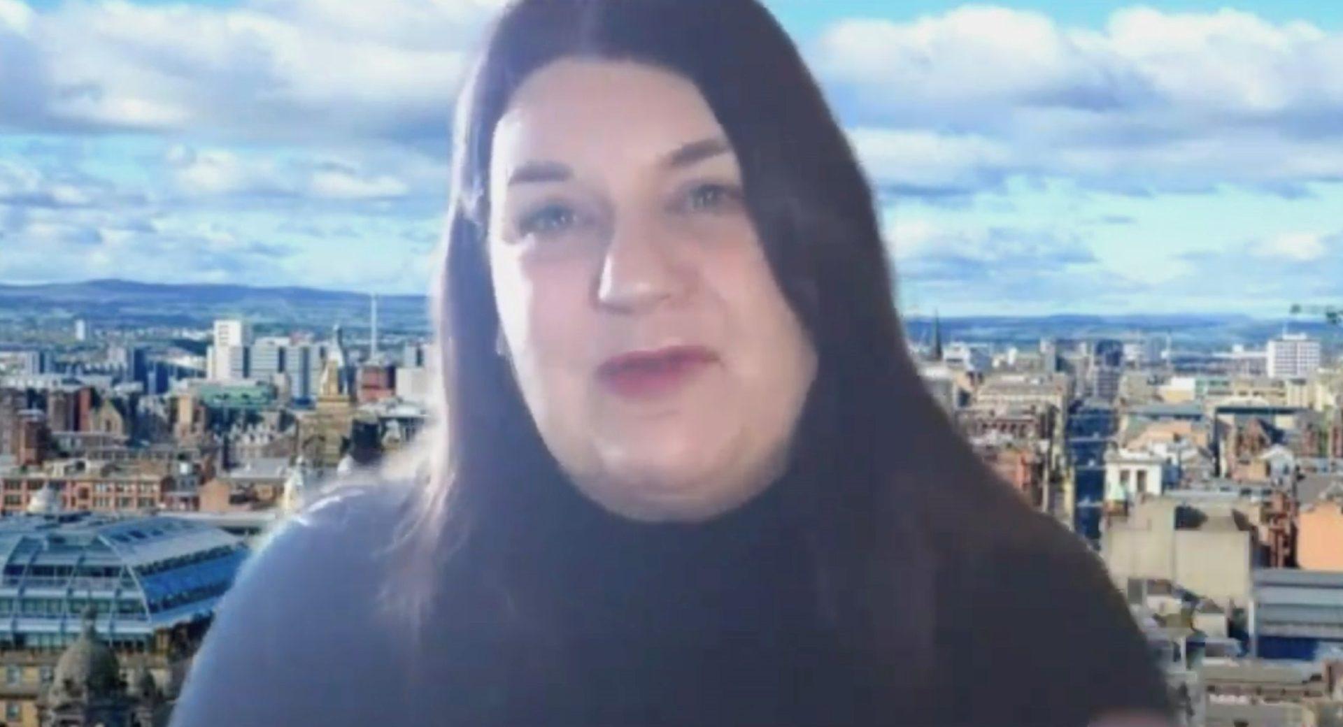 La alcaldesa de Glasgow, Susan Aitken. EFE
