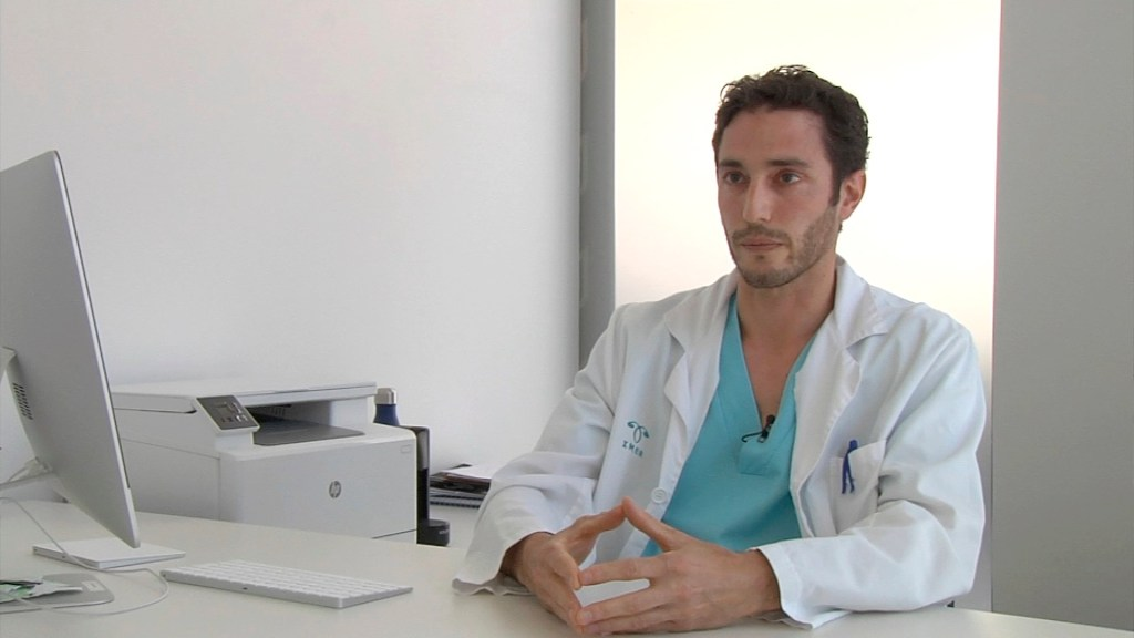 El doctor Antonio Forgiarini.