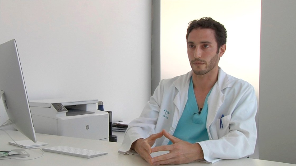 El doctor Antonio Forgiarini.