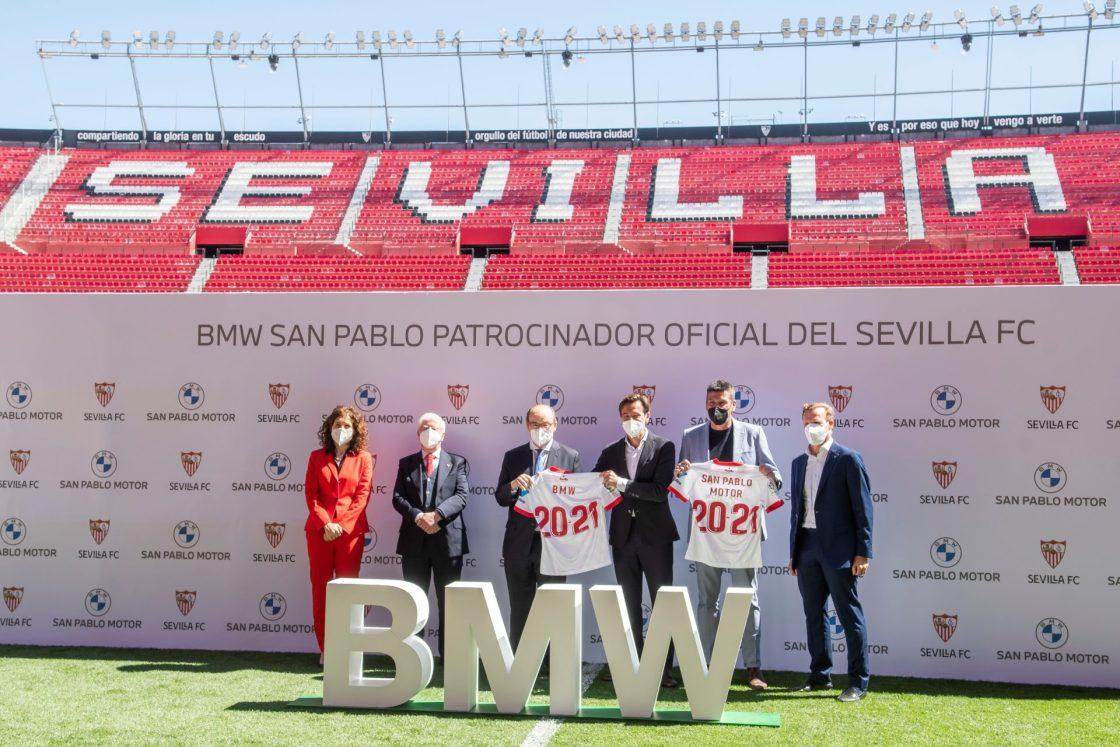 """El Sevilla y BMW impulsan la sostenibilidad en alianza de """"entidades líderes"""""""