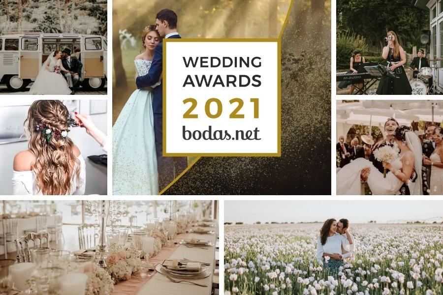 Wedding Awards 2021: estos son los proveedores más valorados del sector nupcial.