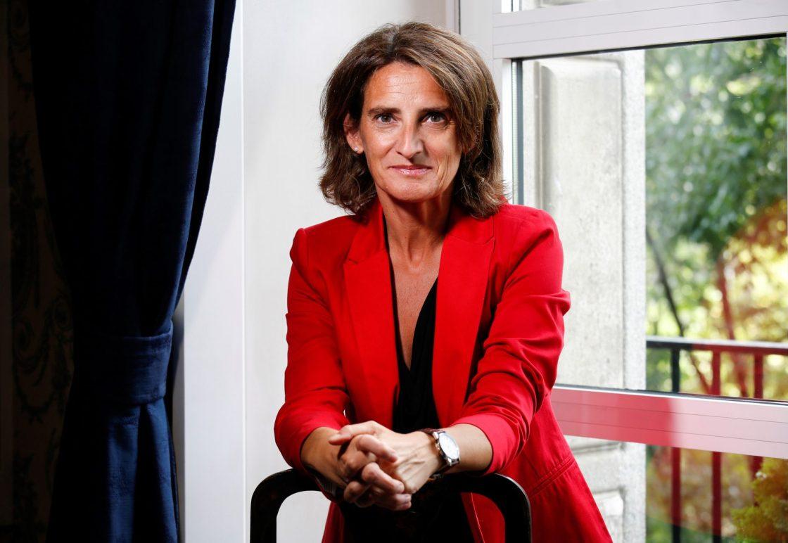La vicepresidenta cuarta y ministra para la Transición Ecológica y Reto Demográfico, Teresa Ribera, destaca entre los ponentes del foro, organizado por la embajada británica, sobre los retos de la próxima cumbre del Clima de la ONU que tendrá lugar en Glasgow. EFE/ Parlamento británico/Chris Mcandrew / SOLO USO EDITORIAL/SOLO DISPONIBLE PARA ILUSTRA LA NOTICIA QUE ACOMPAÑA (CRÉDITO OBLIGATORIO)