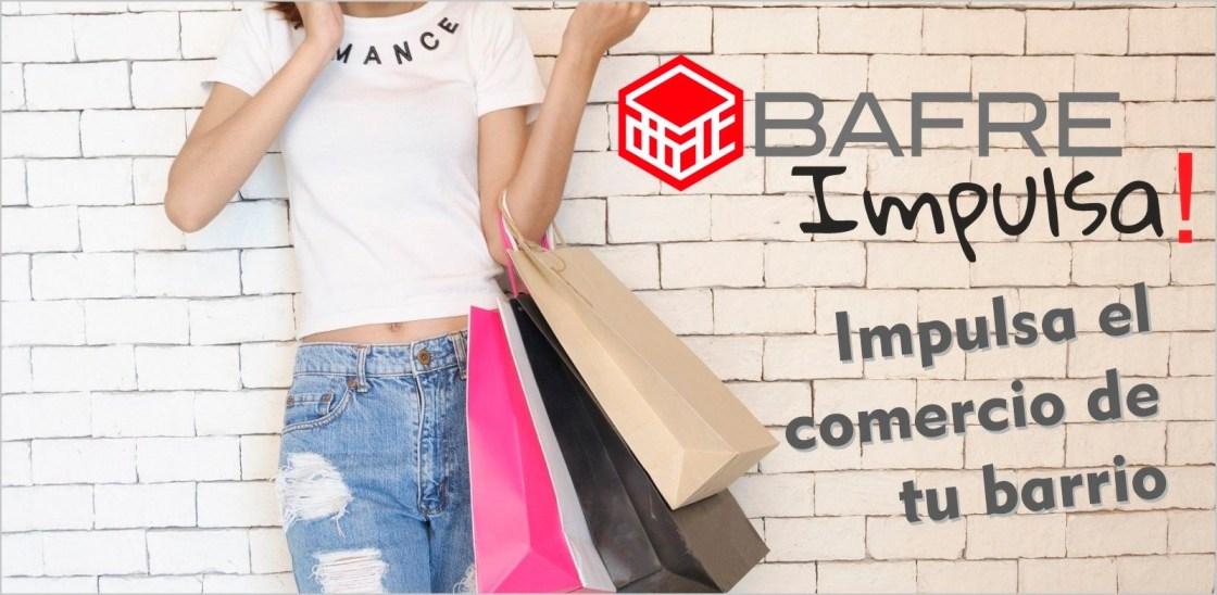 Campaña de Bafre de apoyo al comercio local