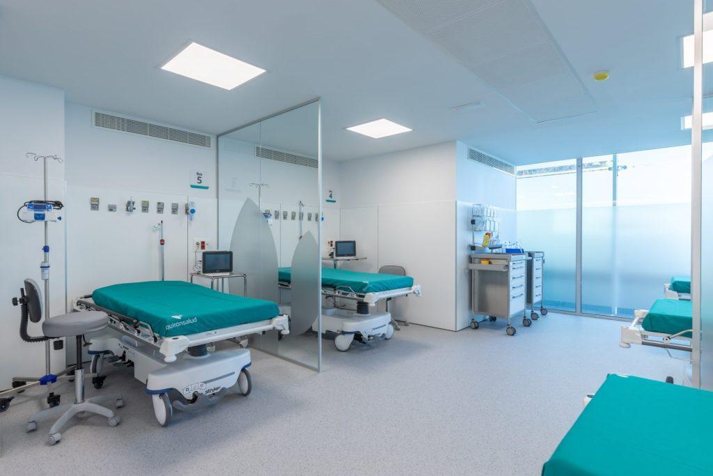 Puestos de atención Cirugía Mayor Ambulatoria.