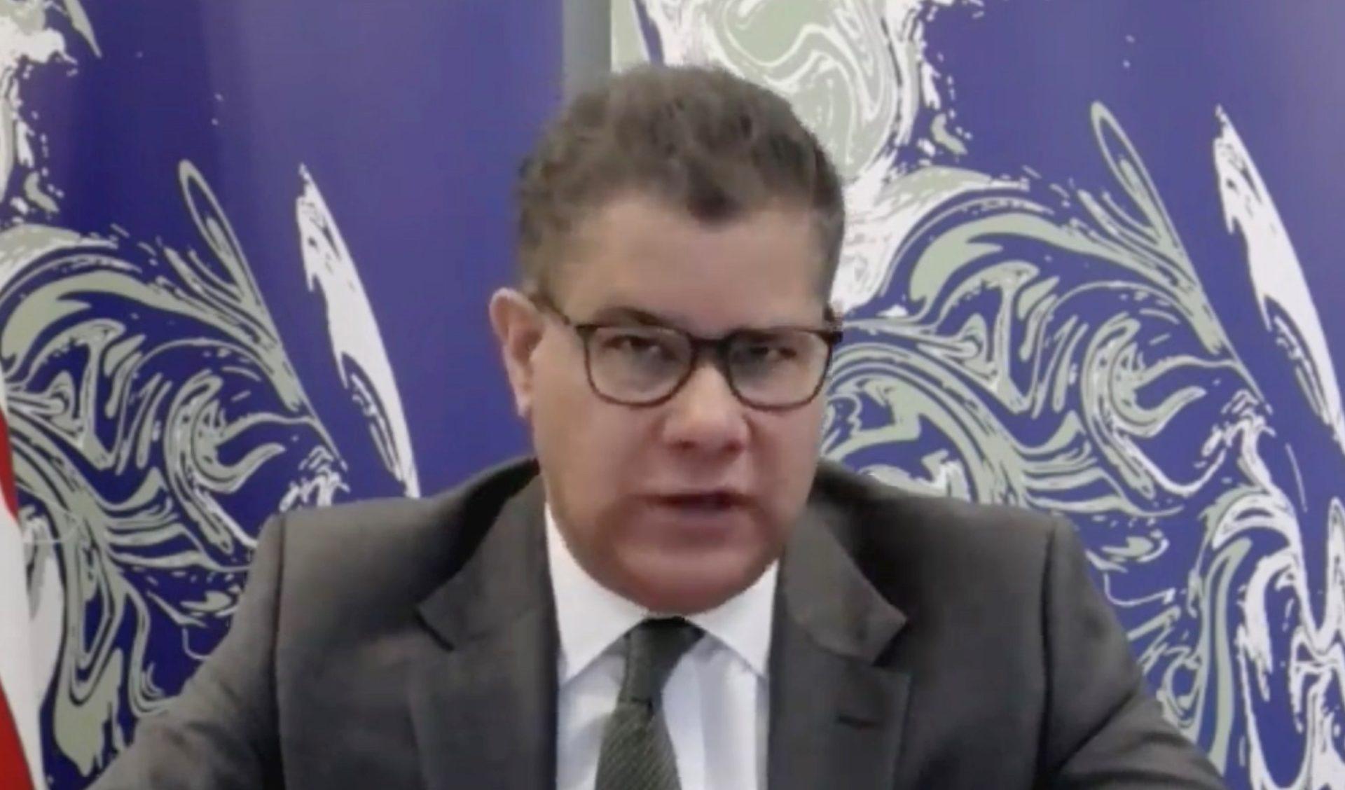 El presidente de la COP26, el británico Alok Sharma.EFE/