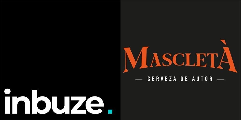 Logotipos de Inbuze y Cervezas Mascletà.