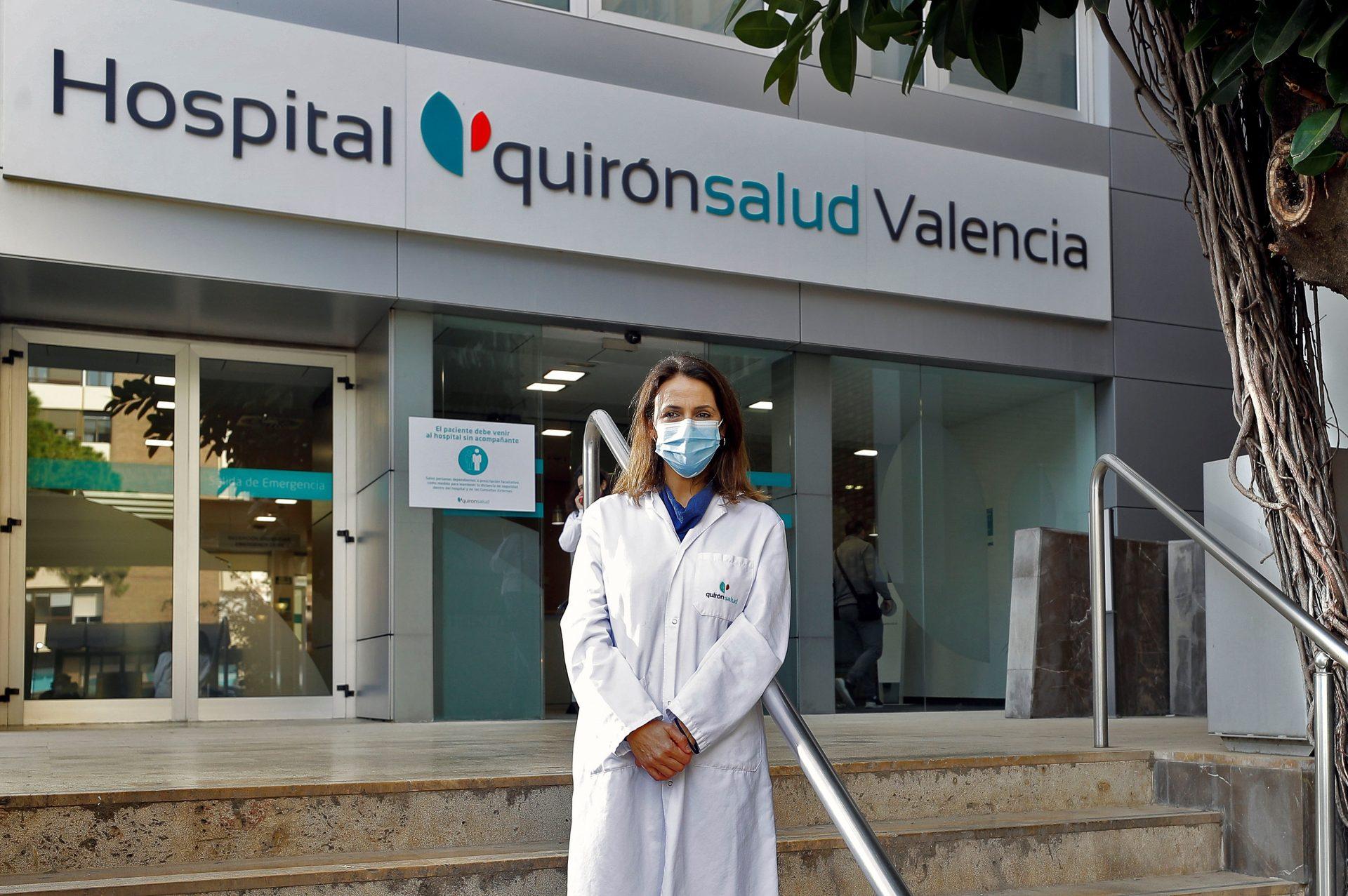 La doctora Ruth Usó, directora médica de Quironsalud en València. EFE/Manu Bruque
