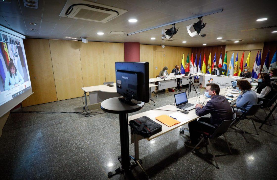 Cumbre Iberoamericana.IV Reunión de Coordinadores Nacionales y de Responsables de Cooperación.Foto:SFGA/CEsteve
