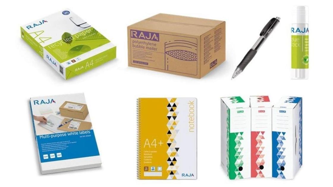 Nuevos productos marca RAJA.