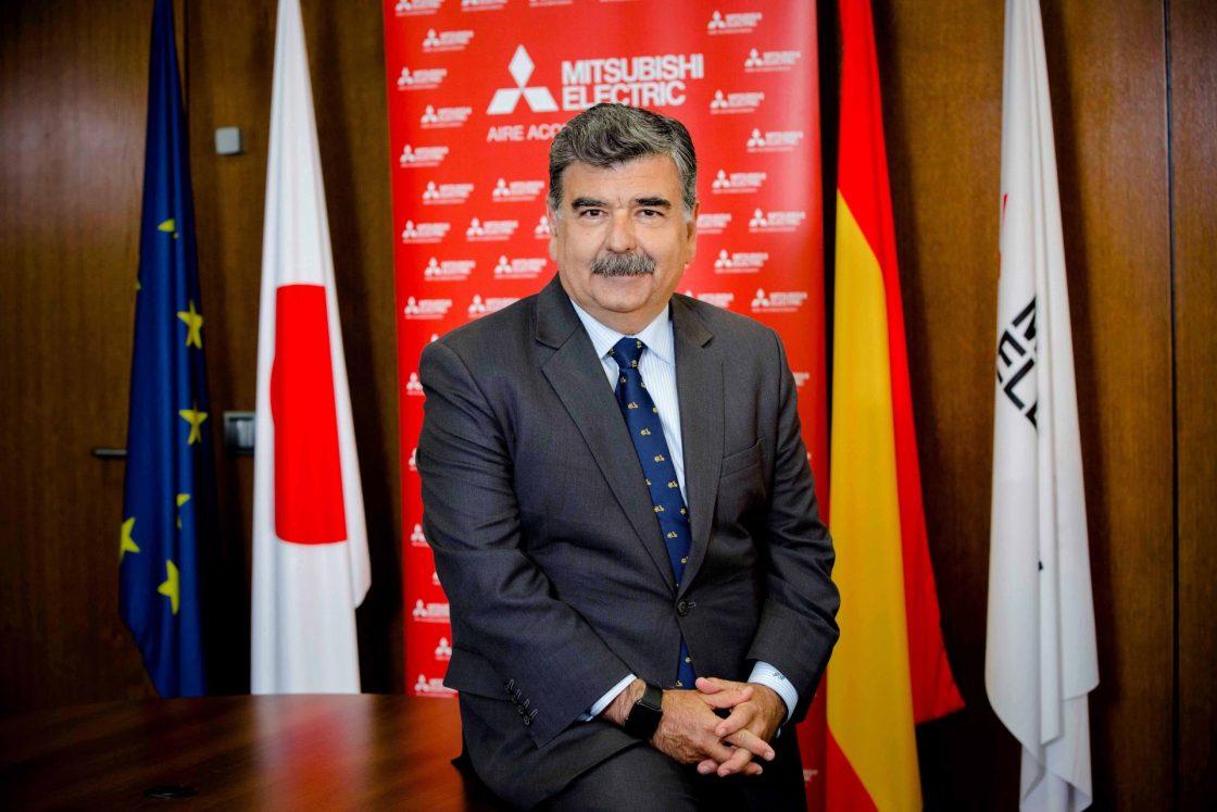 Pedro Ruiz, Presidente de Mitsubishi Electric Europe, B.V., sucu.