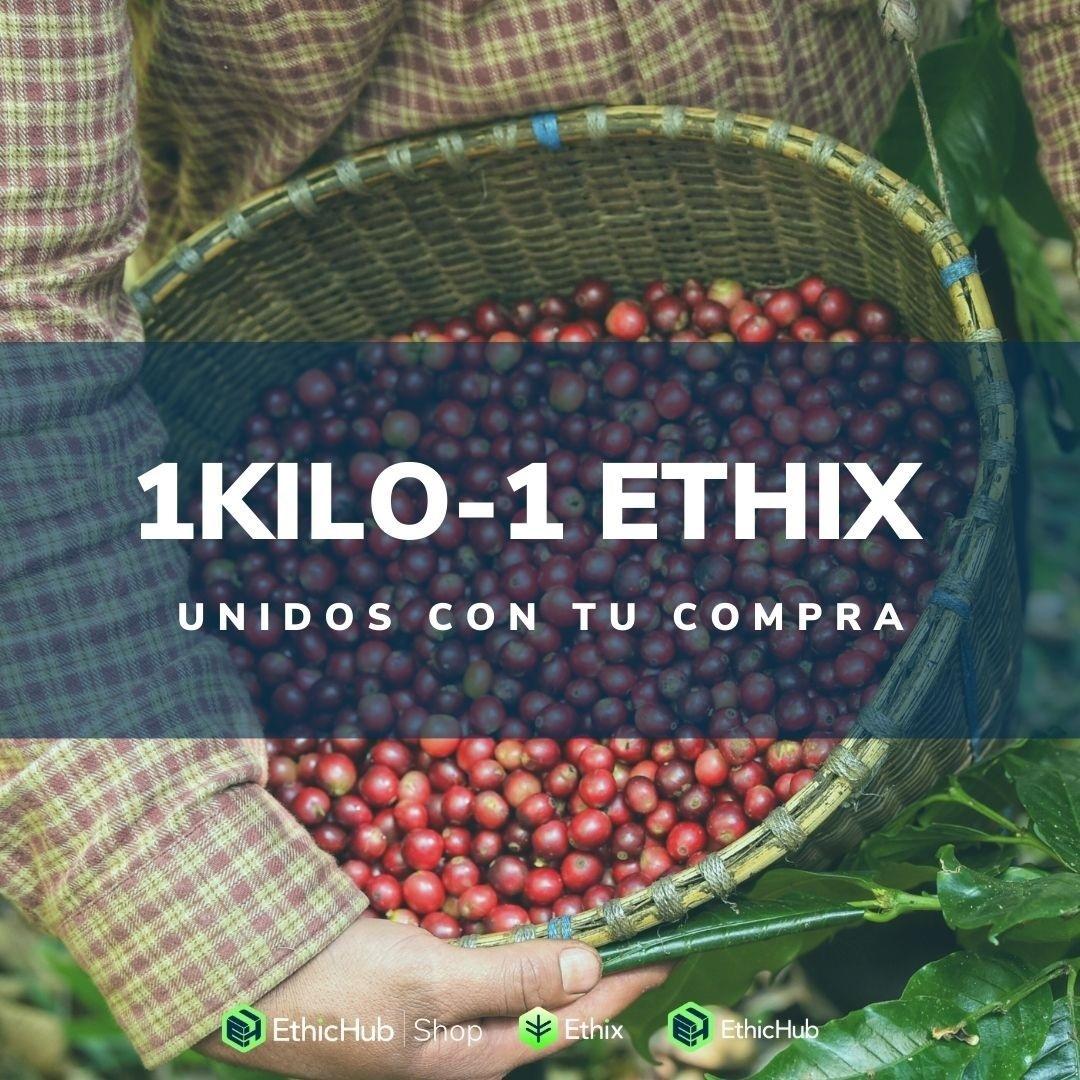 """EthicHub lanza la campaña """"1 Kilo, 1 Ethix"""" para reforzar el eco."""