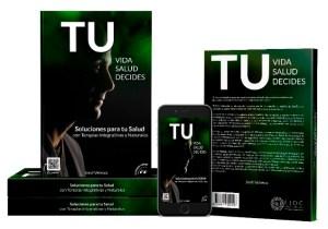 """Libro Jordi Velasco, """"Tu Vida, Tu Salud, Tú Decides"""""""