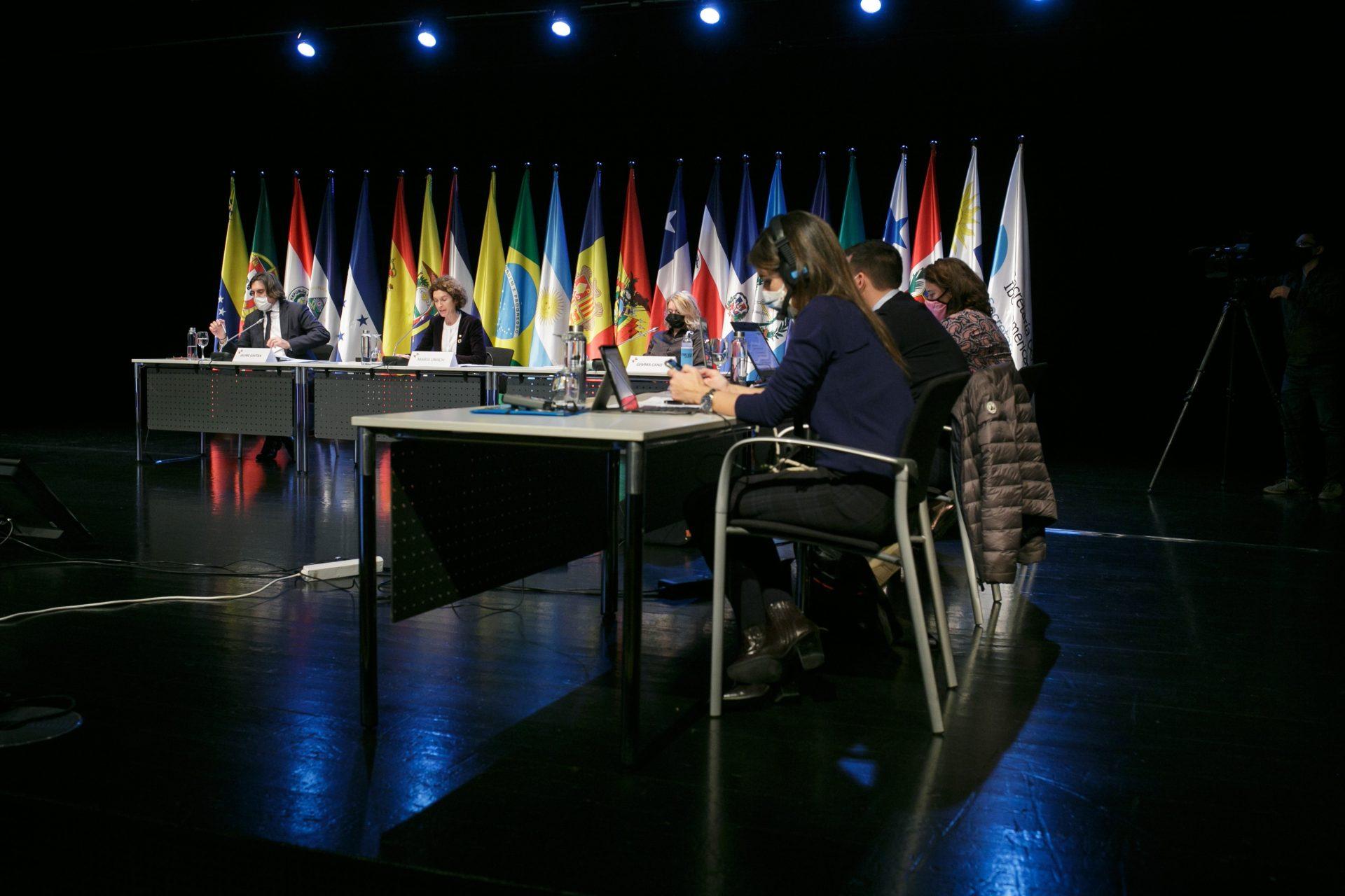 Reunión Extraordinaria de ministros de Asuntos Exteriores de la Conferencia Iberoamericana. Foto:SFGA/CEsteve/CEDIDA/SOLO USO EDITORIAL