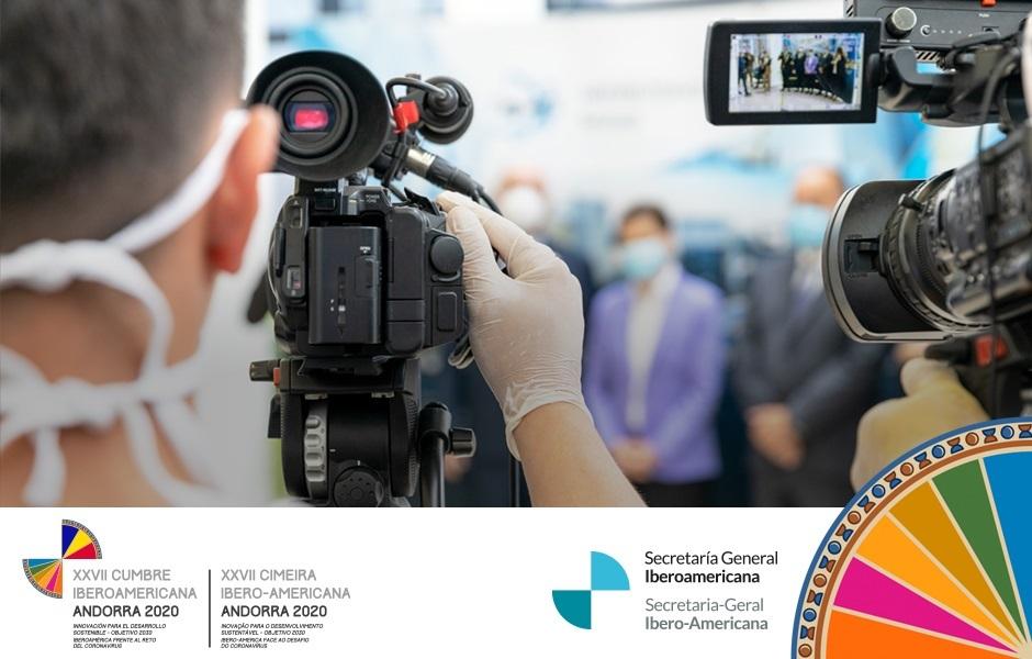 Últimos días de acreditación para la XXVII Cumbre Iberoamericana de Jefes de Estado y de Gobierno.