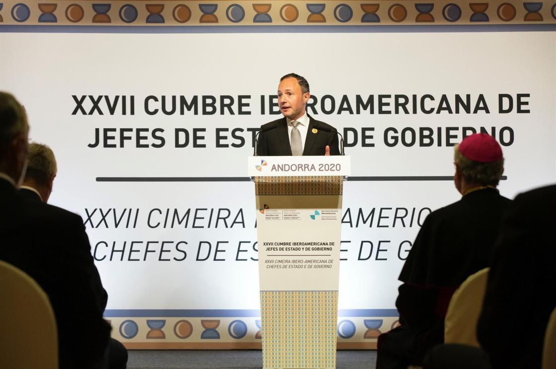 El Jefe de Gobierno de Andorra, Xavier Espot.