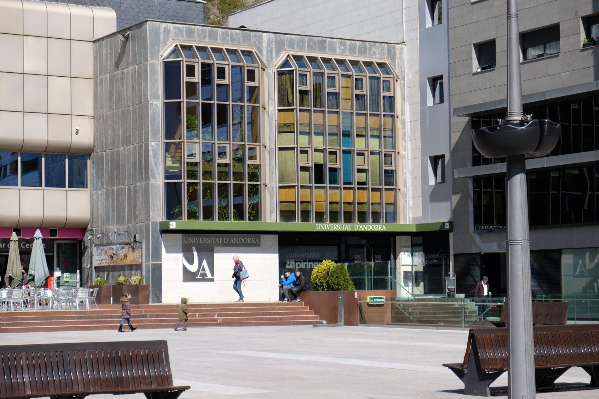 Imagen de la Universidad de Andorra. CEDIDA/SOLO USO EDITORIAL