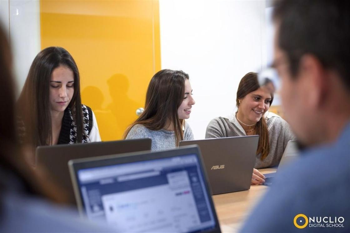 Alumnos de Nuclio Digital School Autor: Nuclio Digital School