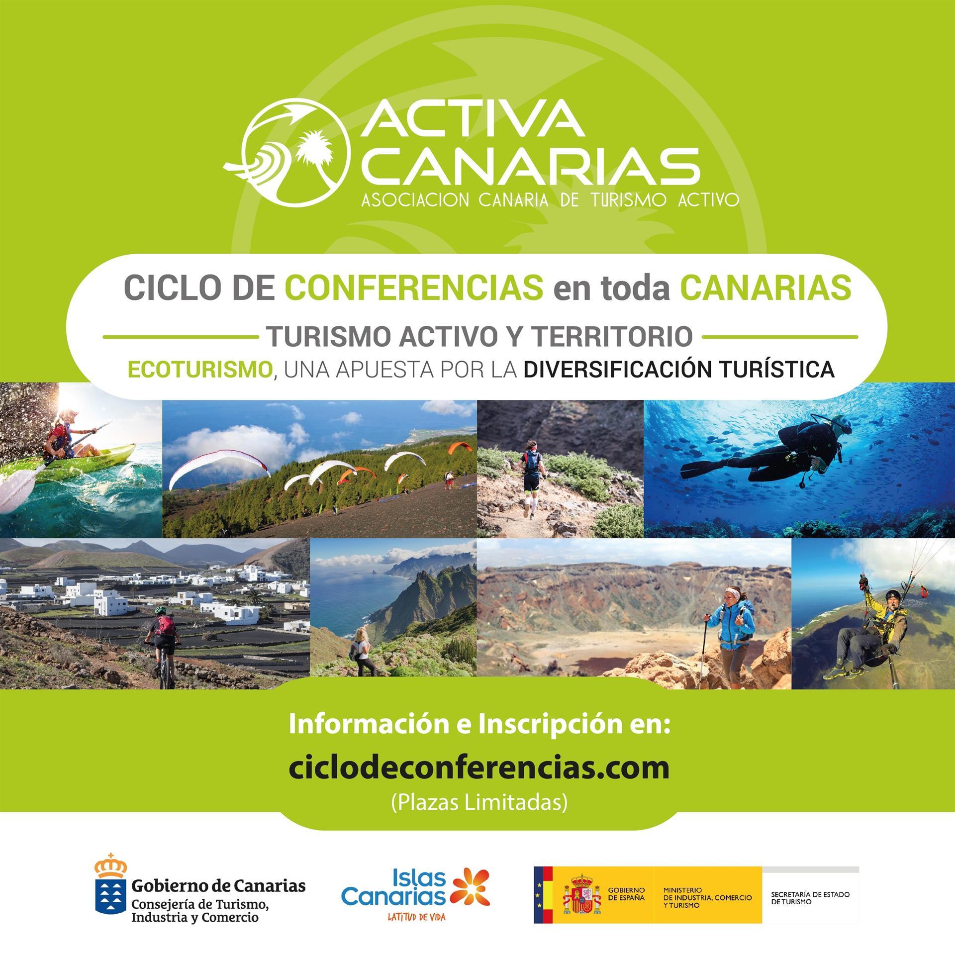 Imagen Ciclo Conferencias Activa Canarias. CEDIDA
