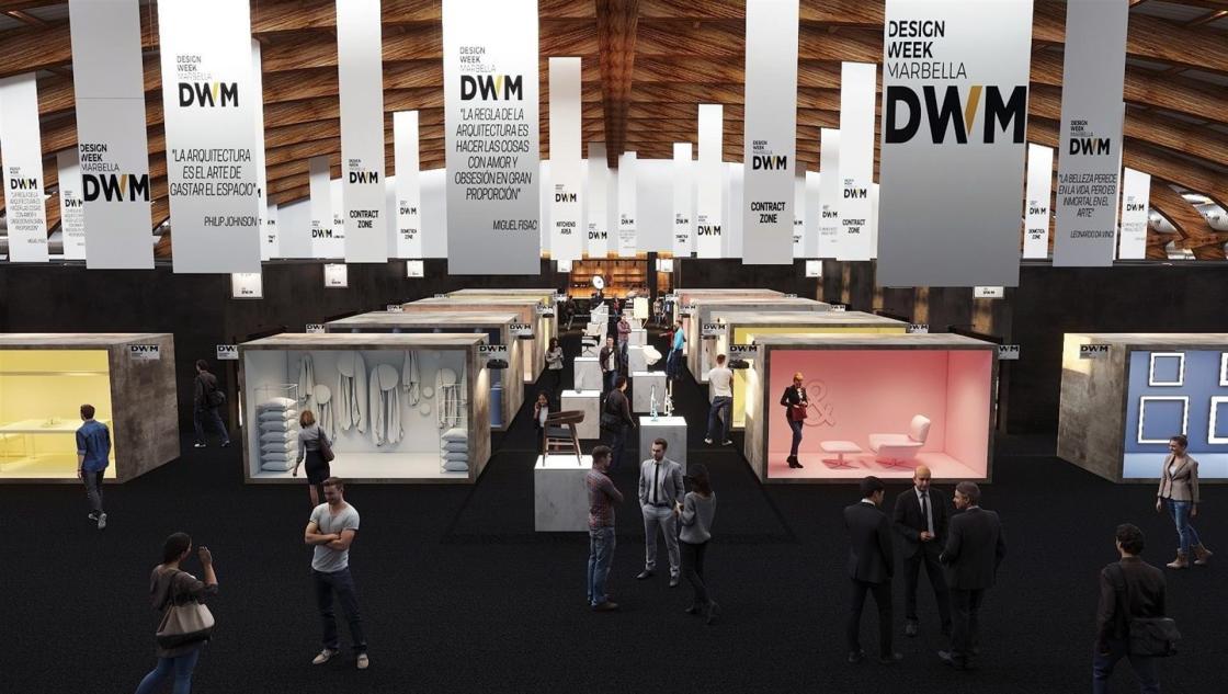 Vista general del pabellón de DWM