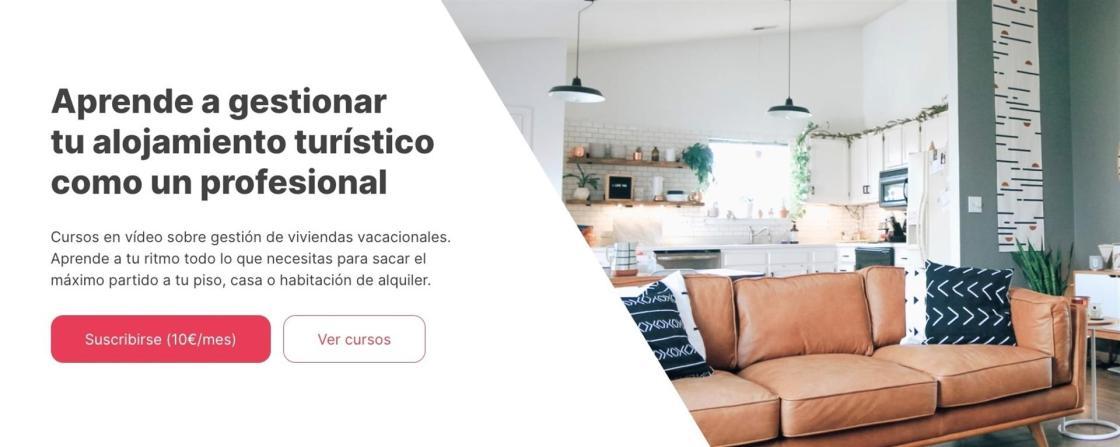 Academia para la gestión de viviendas vacacionales