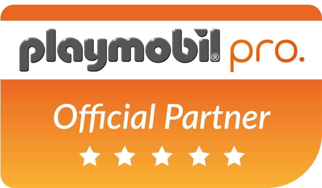 Logo de Official Partner.