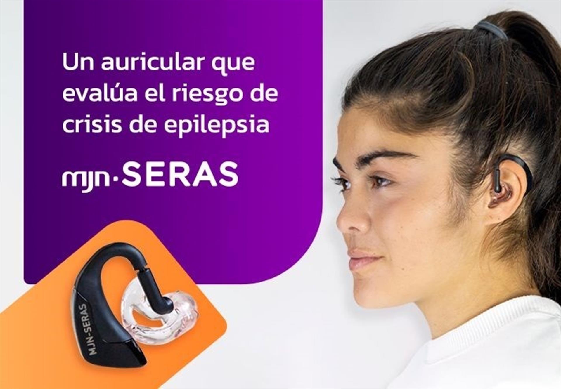 Un auricular que evalúa el riesgo de crisis de epilepsia.