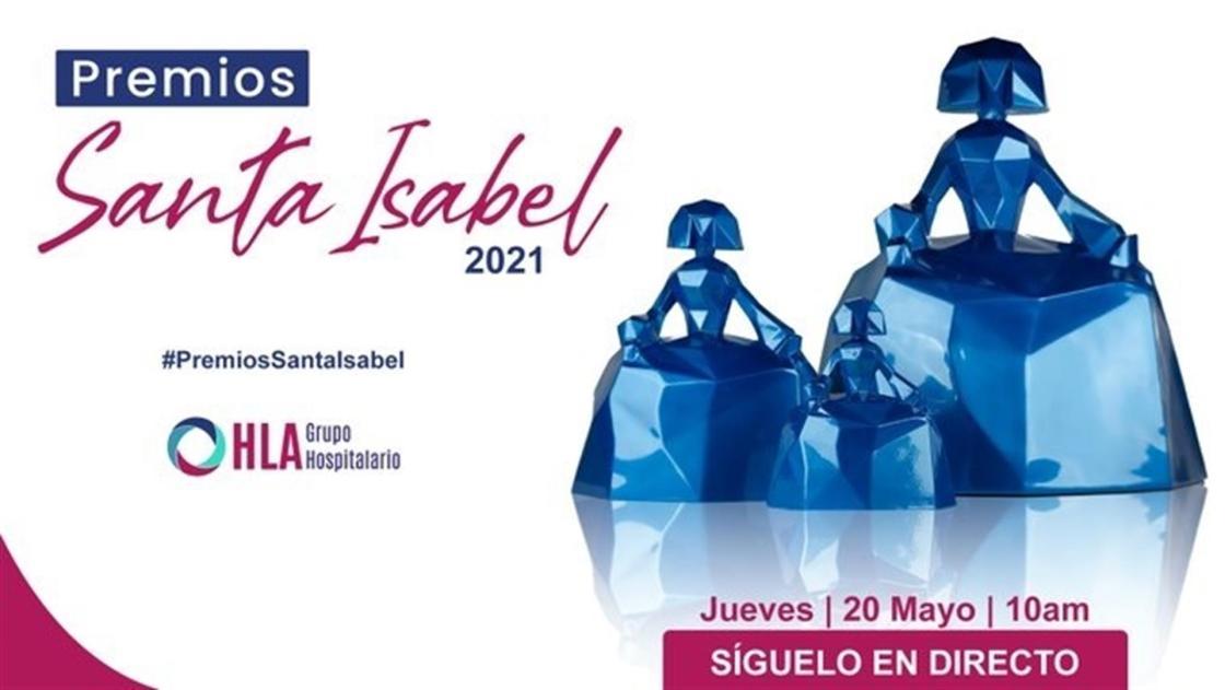 Cartel de la entrega de premios Santa Isabel 2021. Organización