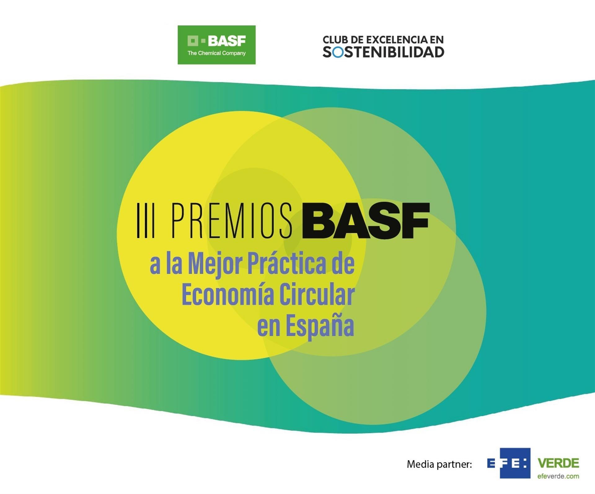 La innovación en economía circular centra la III edición de los Premios BASF.