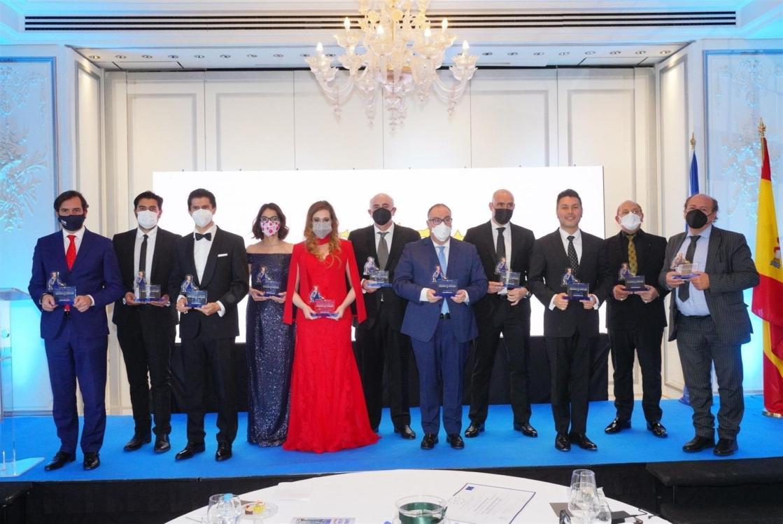 Foto de grupo de la ganadores del Premio Nacional de Jurisprudencia y Legislación Alfonso X El Sabio 2021 / Autor: AEDEEC