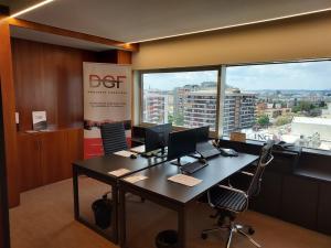 Despacho Oficina Descuento Global Financiero.