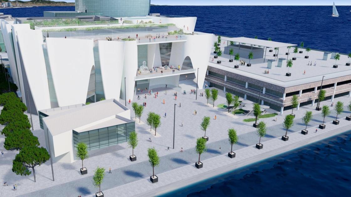 El Port de Barcelona alojará el futuro Hermitage Barcelona a partir de 2024.