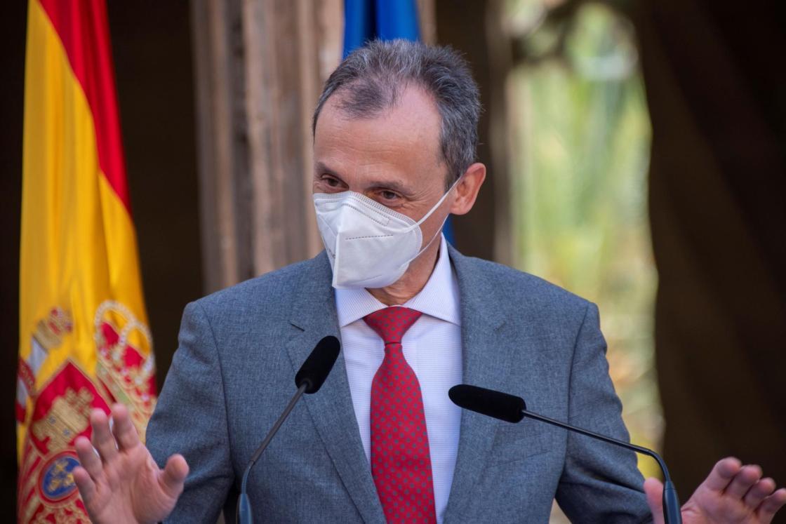 El ministro de Ciencia e Innovación, Pedro Duque. Efeagro/Cati Cladera