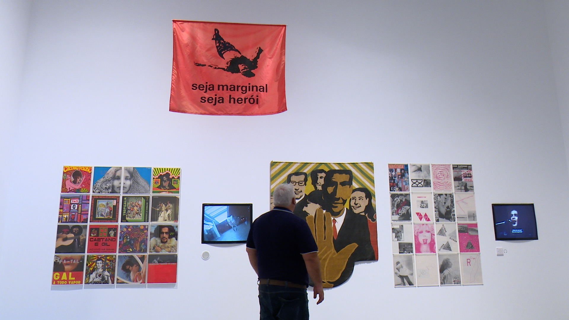 """Imagen del segundo episodio de la reordenación de la Colección del Museo Reina Sofía, titulado """"Los enemigos de la poesía. Resistencias en América Latina""""."""