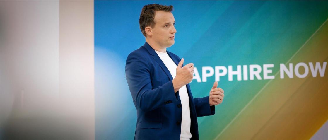 Christian Klein, CEO de SAP, en SAPPHIRE NOWAutor: SAP