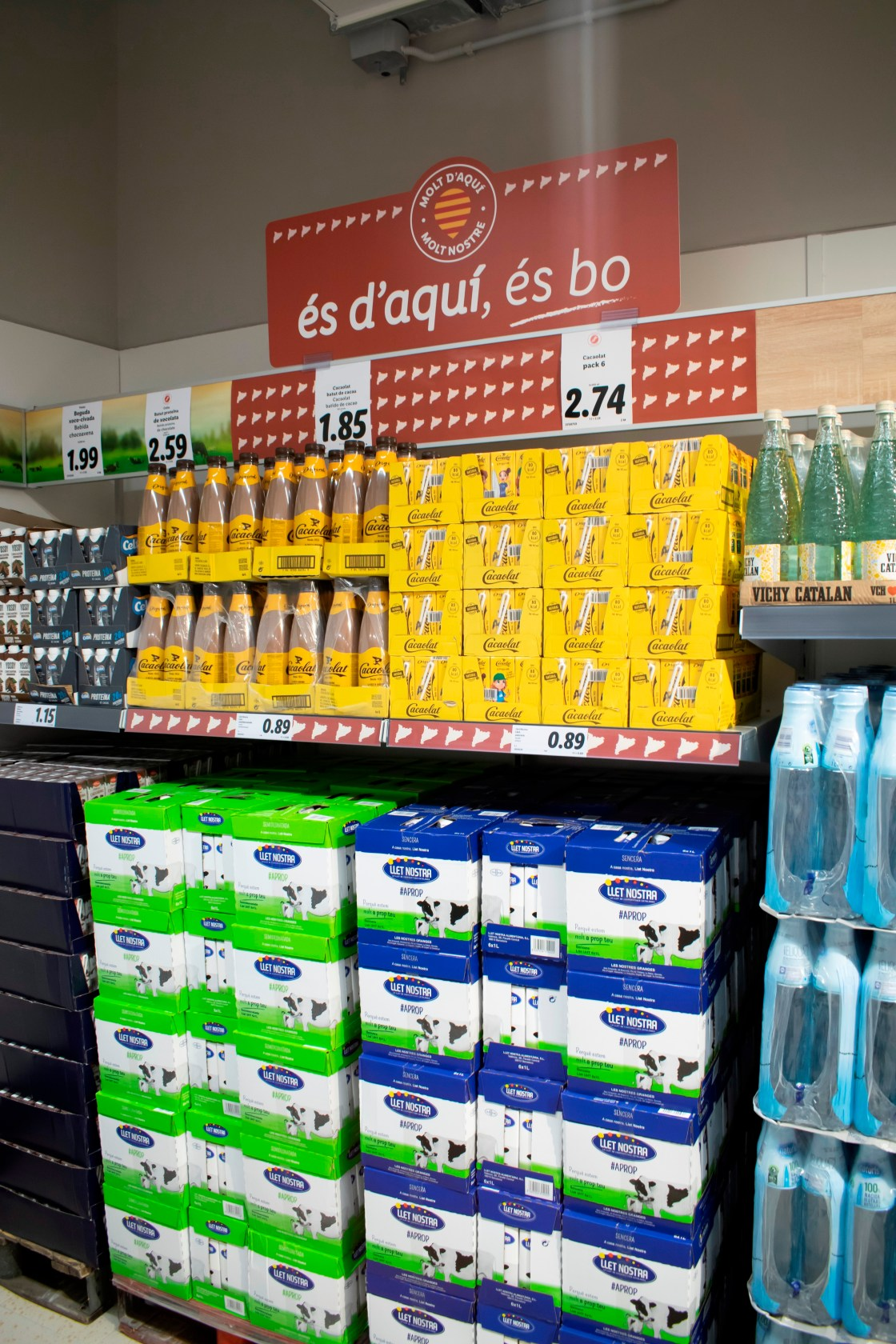 Lidl redobla su compromiso con los productos catalanes, sumando a su oferta más de 250 artículos regionales
