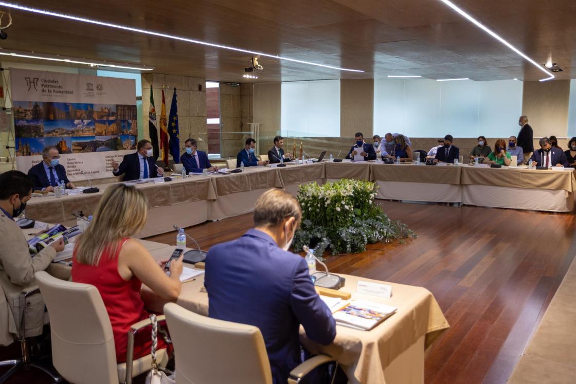 Asamblea General del Grupo de Ciudades Patrimonio de la Humanidad. EFE/ Jero Morales