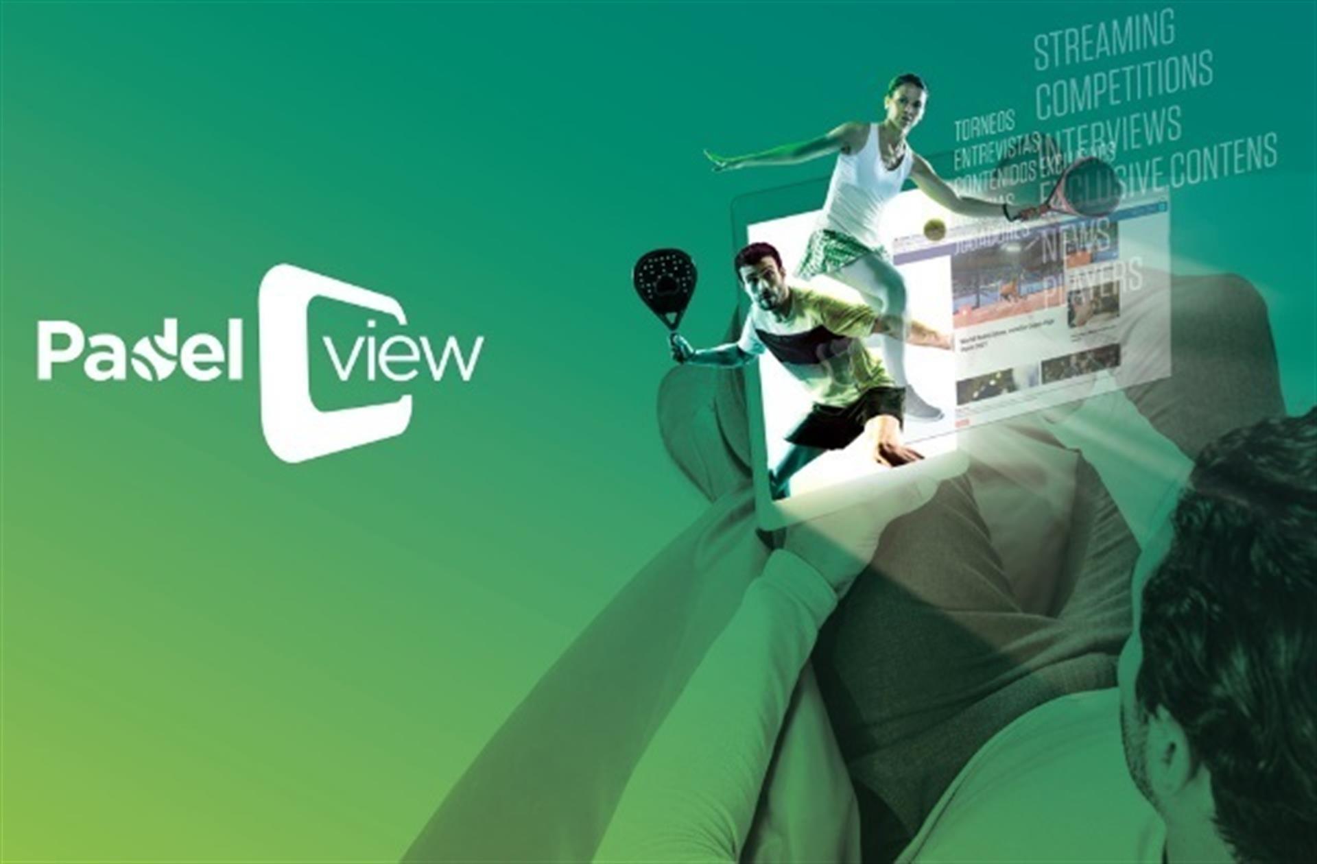 Padel View, contenidos de pádel en streaming y on demand