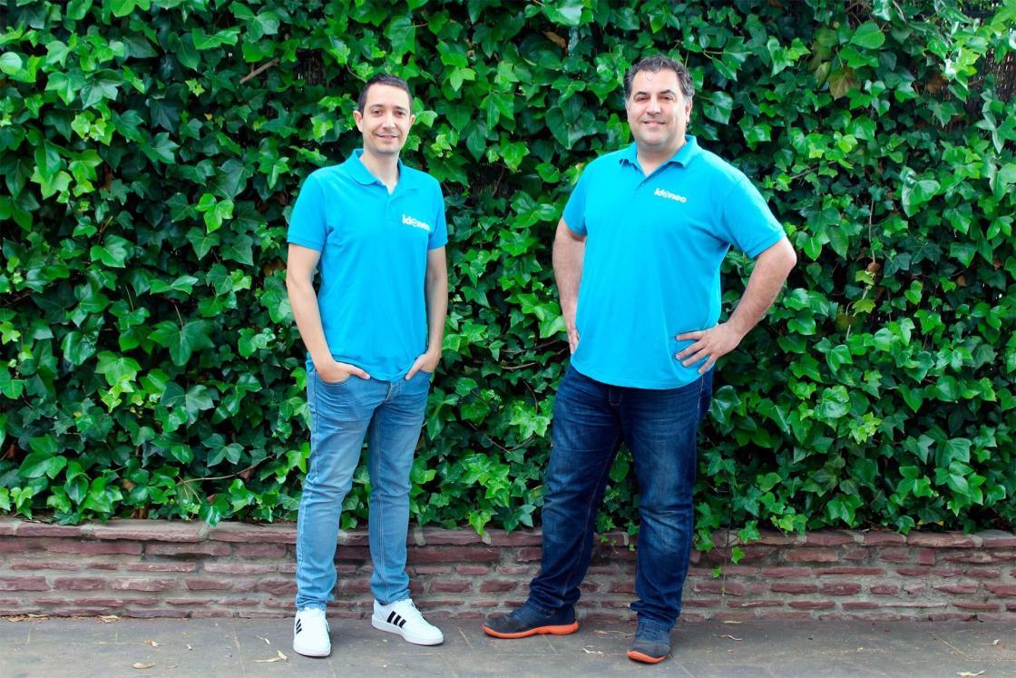 El director de Operaciones y cofundador de Idoneo.com, David Eguizábal; y el director general y también fundador de la compañía, Eduardo Clavijo. / Autor: Idoneo.com