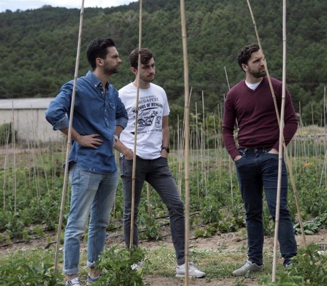 De izquierda a derecha: Mario Rey, Santiago Azurmendi y Alvaro.Autor: HarBest Market 2020 SL