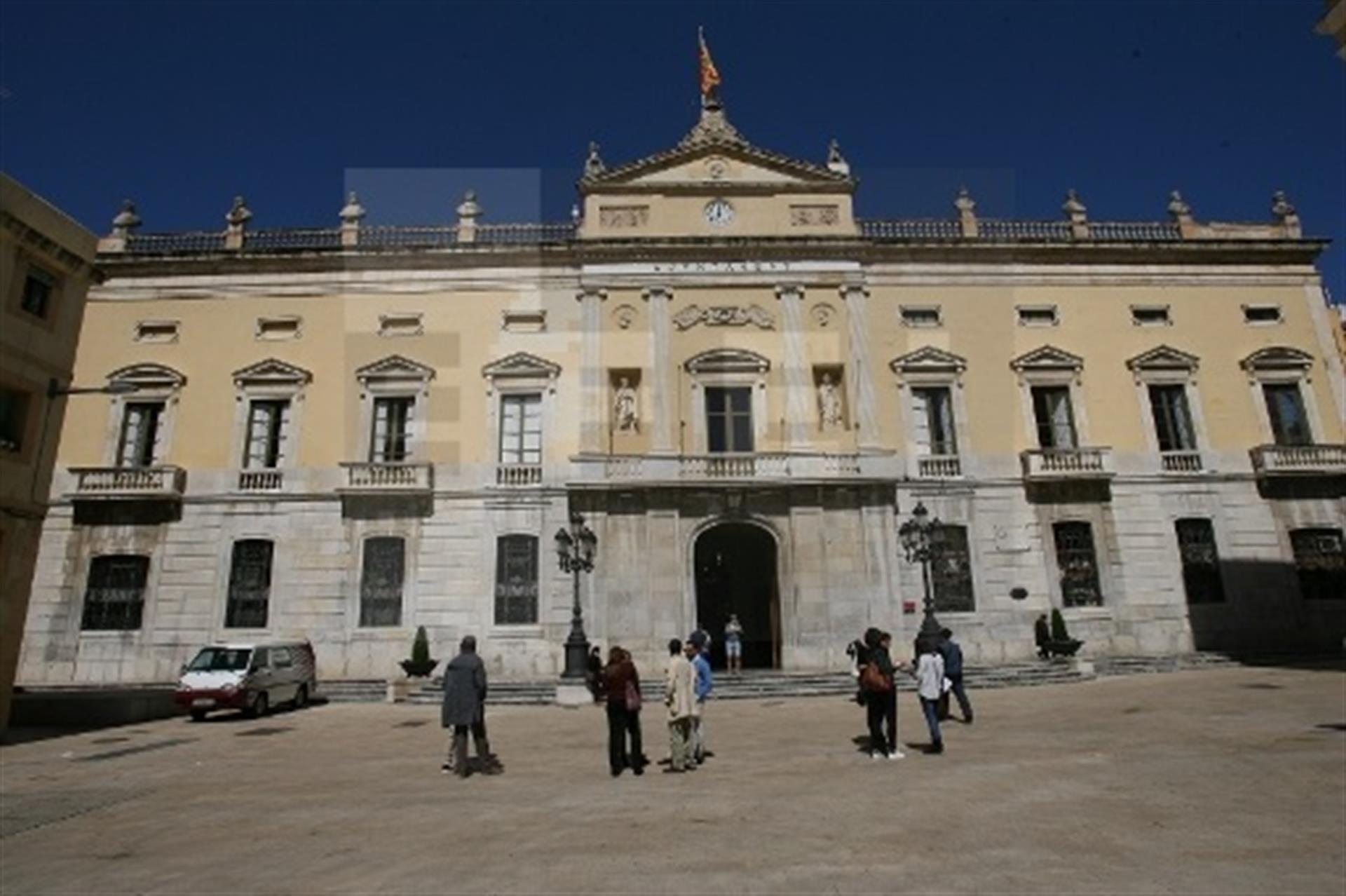 Imagen de archivo del Ayuntamiento de Tarragona. EFE/ARCHIVO