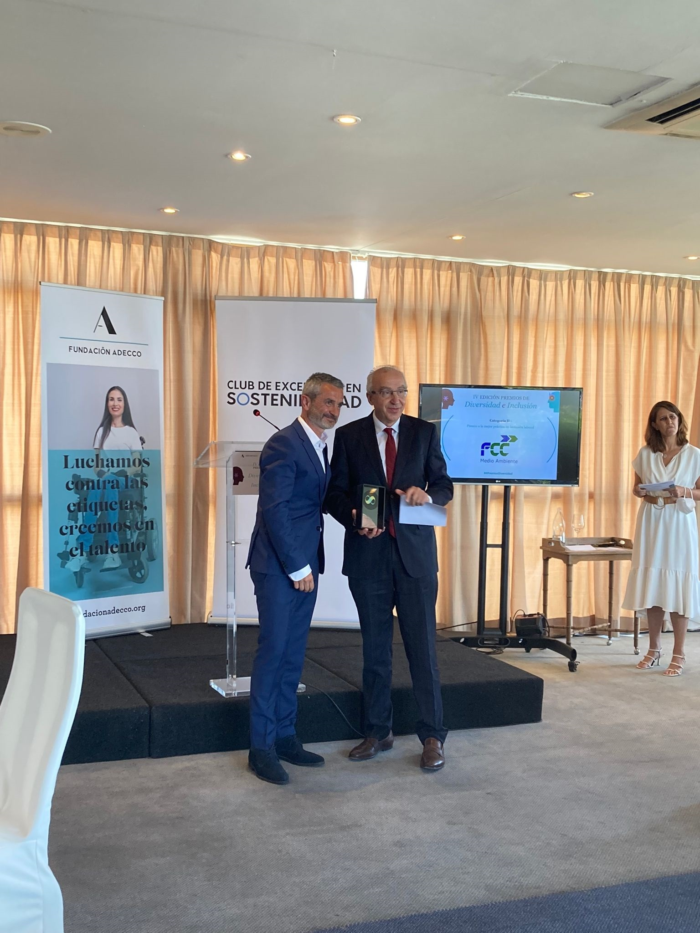 FCC Medio Ambiente galardonada en los IV Premios de Diversidad e Inclusión. CEDIDA