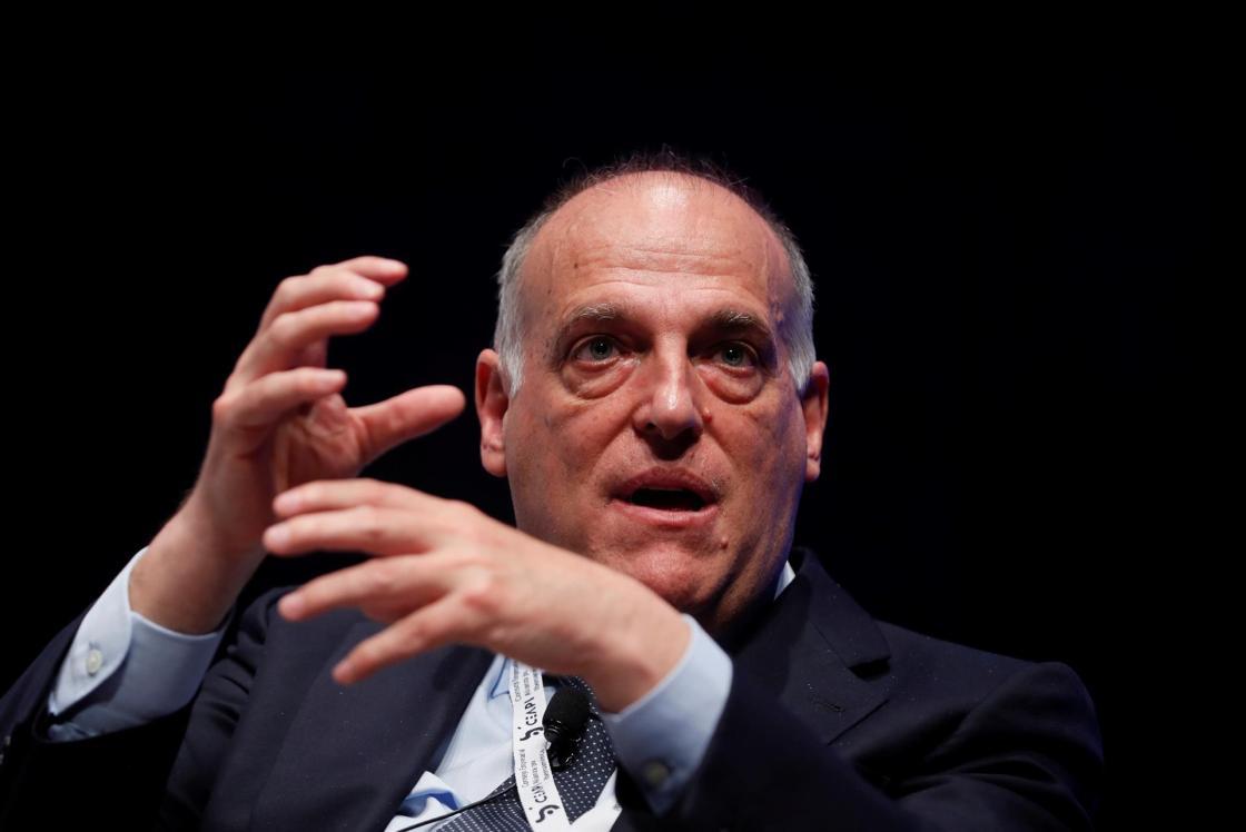 El presidente de LaLiga, Javier Tebas. EFE/ Mariscal/Archivo