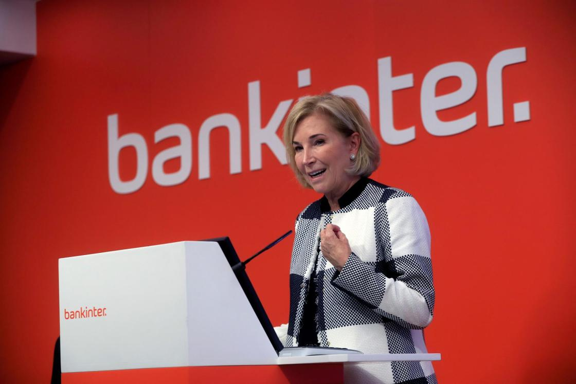 La consejera delegada de Bankinter, María Dolores Dancausa. EFE/Fernando Alvarado/Archivo